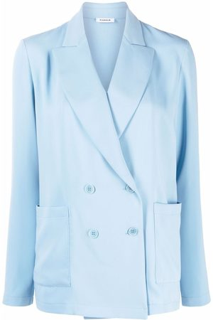 P.a.r.o.s.h. Mujer Sacos - Double-breasted tailored blazer