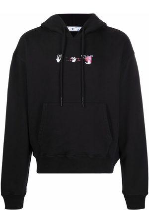OFF-WHITE Hombre Con capucha - Acrylic Arrow hoodie