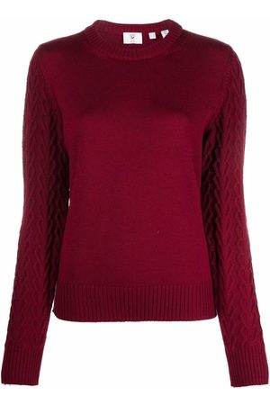 Rossignol Mujer Suéteres - Logo-patch U-neck sweater