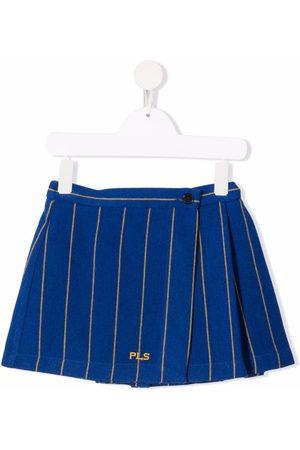 PHILOSOPHY DI LORENZO SERAFINI Niña Faldas - Pinstripe-print mini skirt