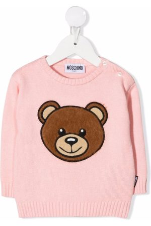 Moschino Tops - Teddy embroidery jumper