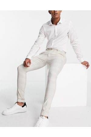 ASOS Extreme super skinny check smart trouser
