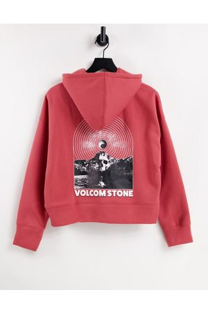 Volcom Voltrip hoodie in red