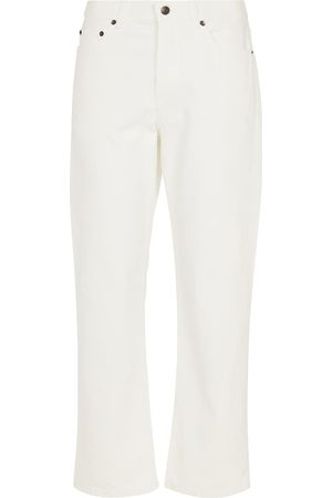 The Row Montero mid-rise straight jeans