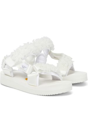Cecilie Bahnsen Maria hand-embroidered sandals