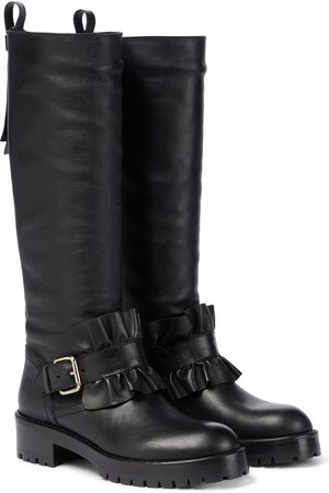 RED(V) Mujer Botas y Botines - Ruffled leather boots