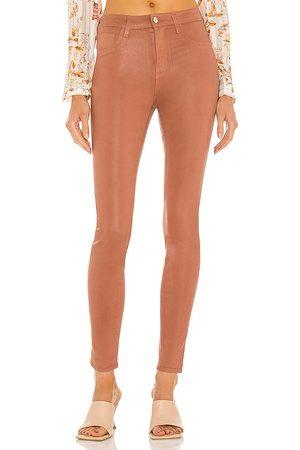 L'Agence Marguerite high rise skinny en color marrón talla 23 en - Brown. Talla 23 (también en 24, 25, 26, 27, 28, 29, 30)