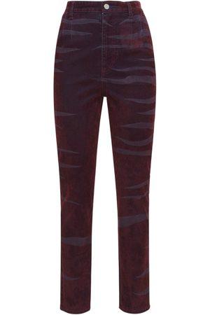KOCHÉ Jeans Slim Fit Con Cintura Alta