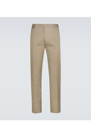 Dolce & Gabbana Hombre Chinos - Stretch-cotton pants