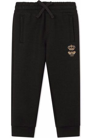 Dolce & Gabbana Niño Pantalones y Leggings - Pants con bordado de abeja