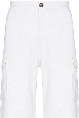 Brunello Cucinelli Hombre Bermudas - Mid-rise Bermuda shorts
