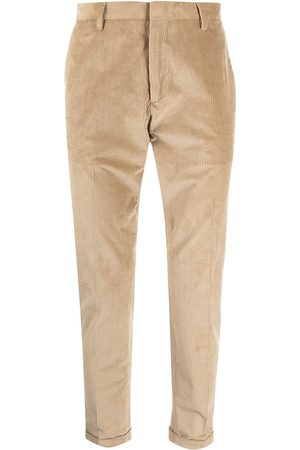 Paul Smith Ribbed pressed-crease trousers
