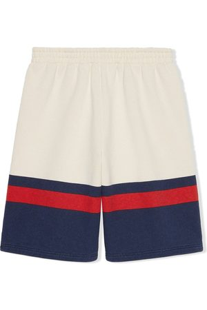 Gucci Shorts con detalle Web
