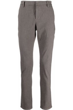 Dondup Mid-rise straight chinos