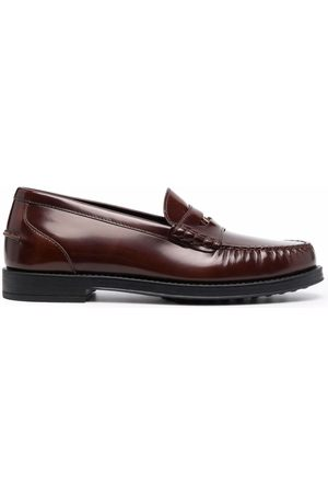 Tod's Gommino leather penny loafers