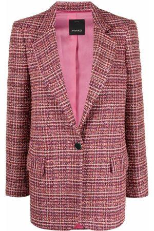 Pinko Blazer de tweed con botones