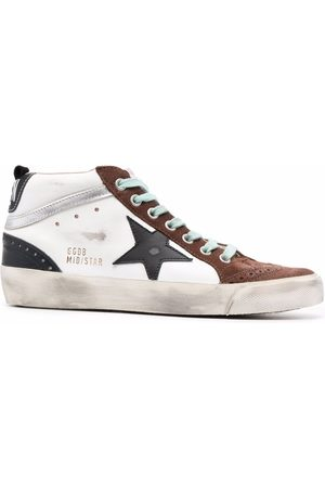 Golden Goose Star-patch high-top sneakers