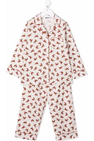 Molo Pijama con estampado de caballos