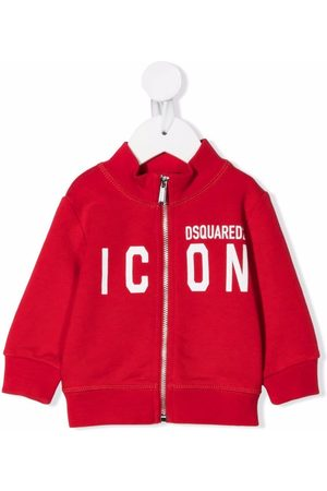 Dsquared2 Zipped icon-print jumper