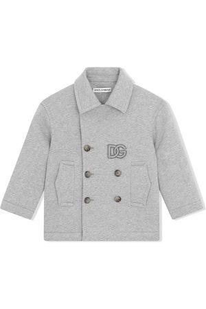Dolce & Gabbana Abrigo con parche del logo