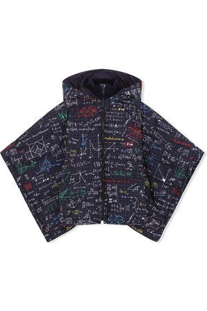 Dolce & Gabbana Chamarra con capucha y estampado de álgebra