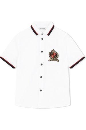 Dolce & Gabbana Camisa con parche del logo
