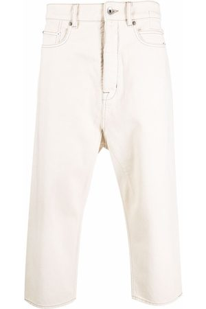 Rick Owens Hombre Rectos - Straight leg cropped jeans