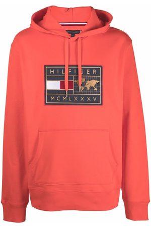 Tommy Hilfiger Hombre Con capucha - Logo print hoodie