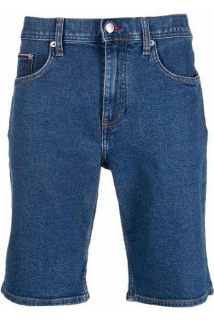 Tommy Hilfiger Hombre De mezclilla - Knee-length denim shorts