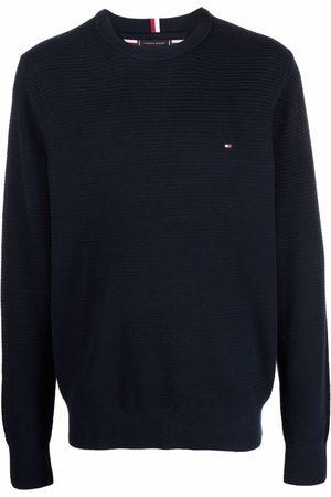 Tommy Hilfiger Hombre Suéteres cerrados - Embroidered logo jumper