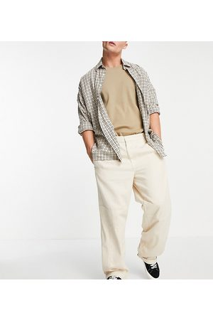 Collusion Low rise cargo trousers in ecru co ord