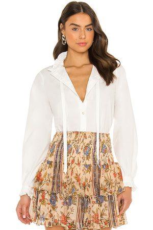Mes Demoiselles Camisa babcock en color talla 36/4 en - White. Talla 36/4 (también en 34/2, 38/6, 40/8).