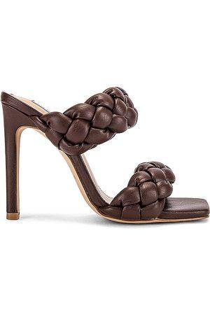 Steve Madden Sandalia kenley en color chocolate talla 10 en - Chocolate. Talla 10 (también en 6, 6.5, 7, 7.5, 8, 8.5, 9, 9.5).