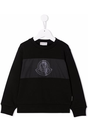 Moncler Enfant Niño Con capucha - Logo-print cotton sweatshirt