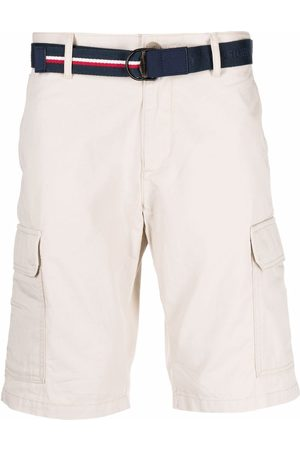 Tommy Hilfiger Hombre Shorts - Belted chino shorts