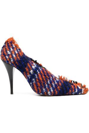 Marni Mujer Tacones - Zapatillas con motivo de cuadros
