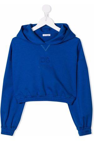 Dolce & Gabbana Niña Con capucha - Hoodie con logo en relieve