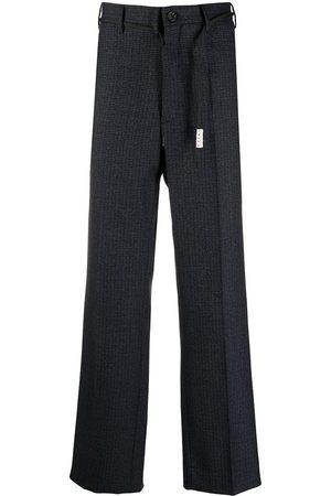 Marni Pantalones rectos con motivo de cuadros