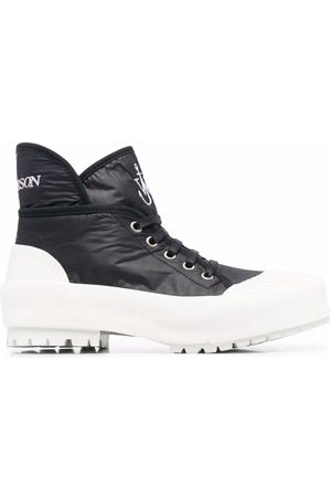 J.W.Anderson High-top two-tone sneakers