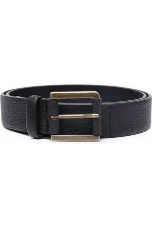 Pal Zileri Hombre Cinturones - Textured leather belt