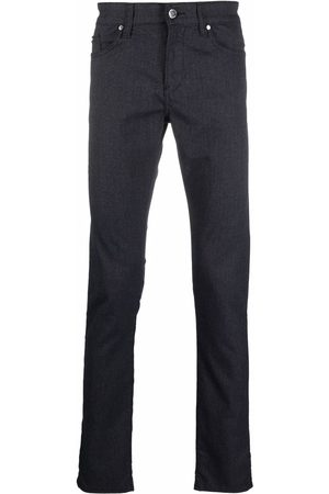 Boss Hugo Boss Hombre Skinny - Mid-rise slim-fit jeans
