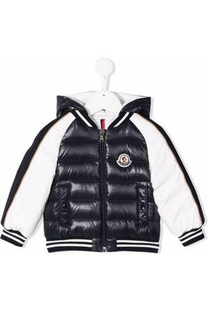 Moncler Buket colour-block puffer jacket