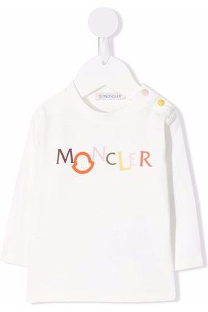 Moncler Logo-print long-sleeve T-shirt