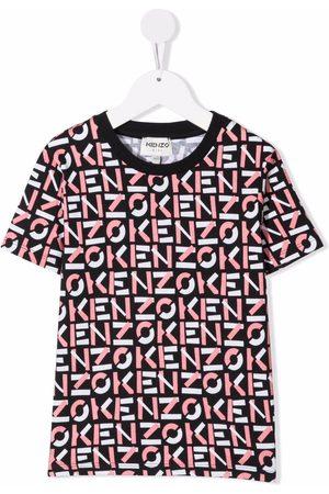 Kenzo Kids Niña Playeras - Logo-print cotton T-shirt