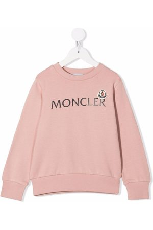Moncler Enfant Logo-print sweatshirt