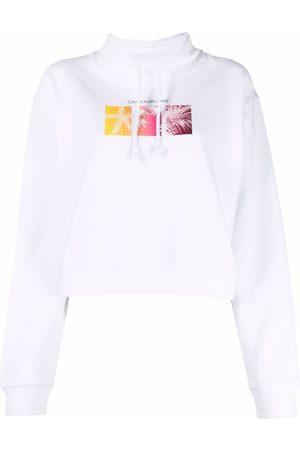Calvin Klein Logo-print drawstring jumper
