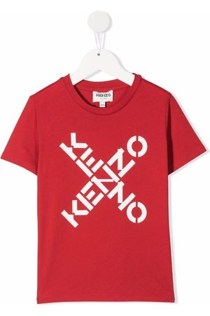 Kenzo Logo-print organic cotton T-shirt