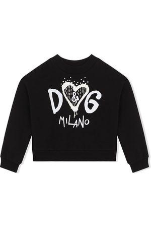 Dolce & Gabbana Sudadera con logo estampado