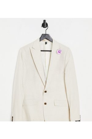 Gianni Feraud Tall Wedding linen slim fit suit jacket