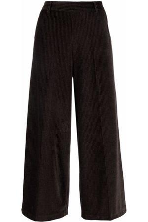 Circolo Mujer Capri o pesqueros - Cropped corduroy culottes